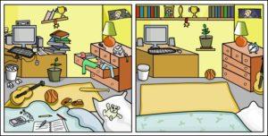messy-neat-room
